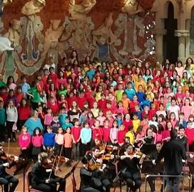 Cantata  Escoles Vinculades Palau de la Música